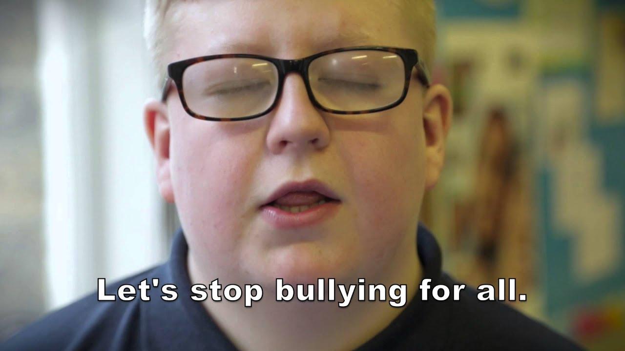 Stop bullying youtube