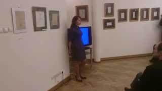 Выставка Нади Рушевой в библиотеке им.И.С.Тургенева
