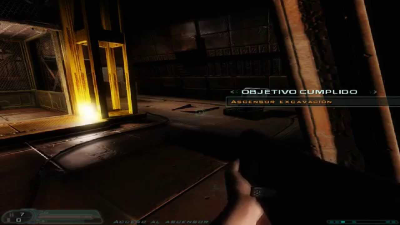 Download Doom 3 (ROE), Erebus - Level 1: Main Excavation (Sikkmod 1.1, Wulfen Textures) Español