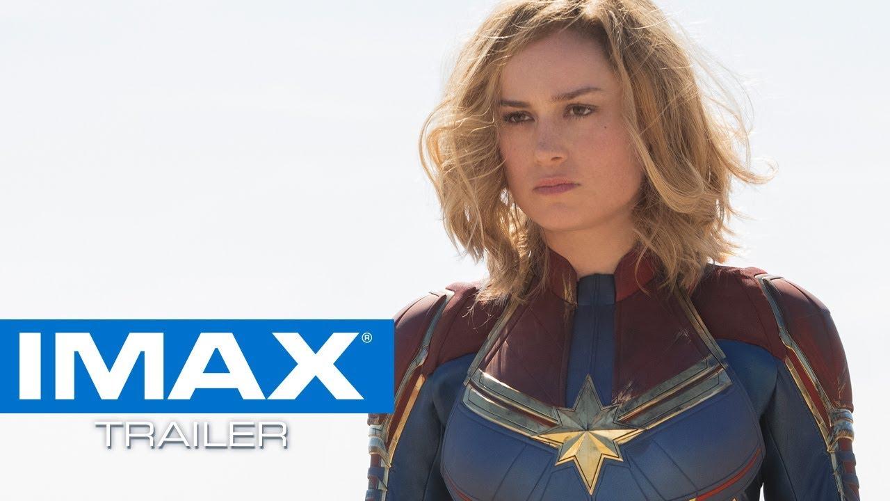 captain marvel imax® trailer