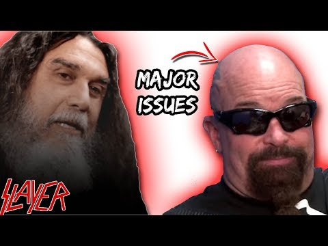 Slayer's Tom Araya: I Have MAJOR Business Issues With Kerry King!