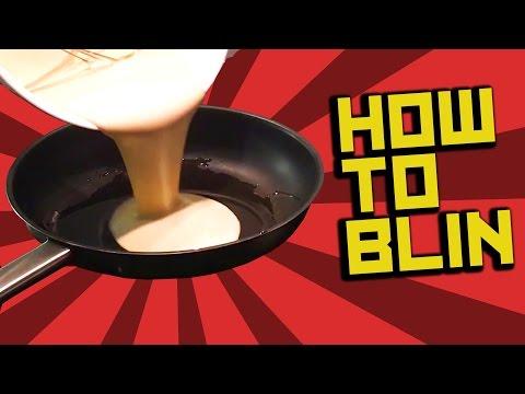 How to make blin - Russian pancakes recipe