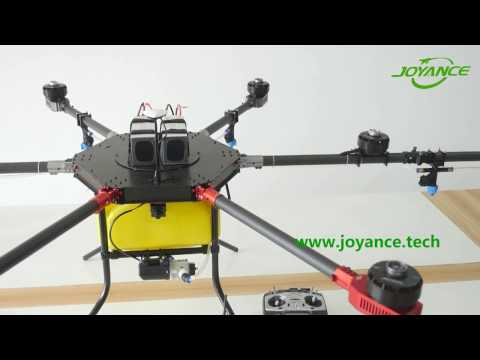 Agriculture Sprayer Drone Operation Video
