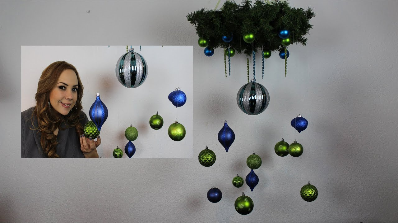 Candelabro Navide 241 O Christmas Chandelier Youtube