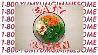 EASY RAMEN RECIPE   VIDTOBER # 7