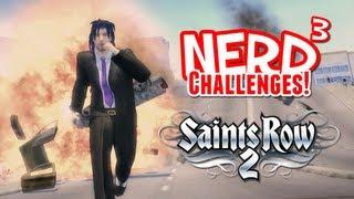 Nerd³ Challenges! Evil Cars! Saints Row 2