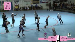 Wheels of Justice vs Victorian Roller Derby All Stars