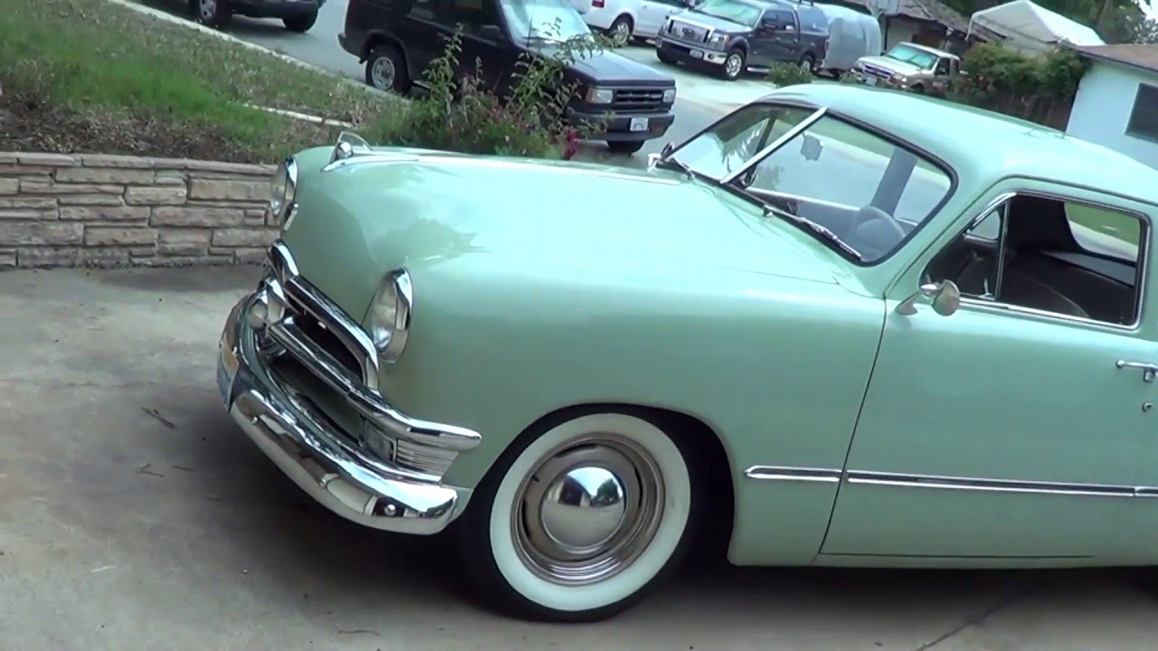 1950 ford business coupe the shoebox ford youtube. Black Bedroom Furniture Sets. Home Design Ideas