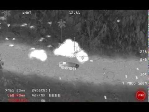 AC-130 Gunship: 66 seconds of mayhem