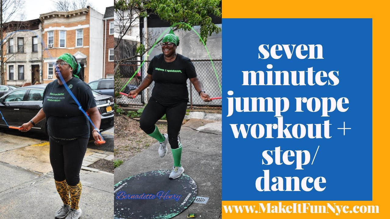 7 minute jump rope and stwp workout