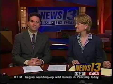 Good Morning Las Vegas, KTNV News 13, Jan. 10, 2001, with Jena Anton & Bob Jeswald