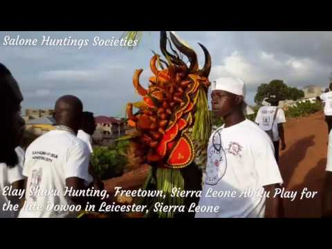 Elay shuku hunting society, Freetown, Sierra Leone
