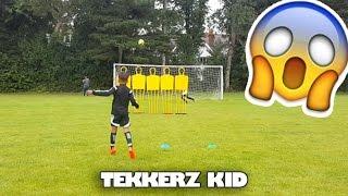 Best kids soccer goals & skills!! | tekkerz kid