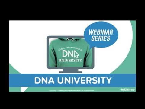 DNA University Webinar 002 Selecting the Right Launch Strategy for your TLD