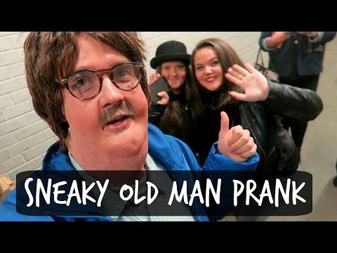 SNEAKY OLD MAN PRANK!