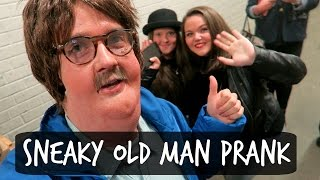 SNEAKY OLD MAN PRANK!