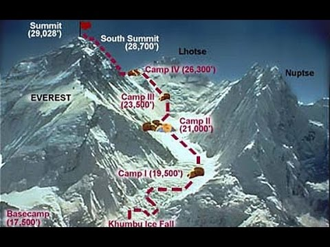Height of Mount Everest