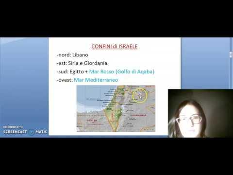 GEOGRAFIA 3a, STATO Di ISRAELE, 20/03/20