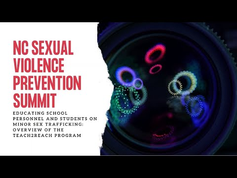 Educating School Personnel & Students on Minor Sex Trafficking: Overview of the Teach2Reach Program