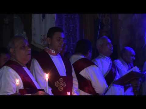 تمثلية القيامة كنيسة مارجرجس بالمطرية 2015