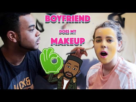 !!CHALLENGE!! BOYFRIEND DOES GIRLFRIENDS MAKE UP!