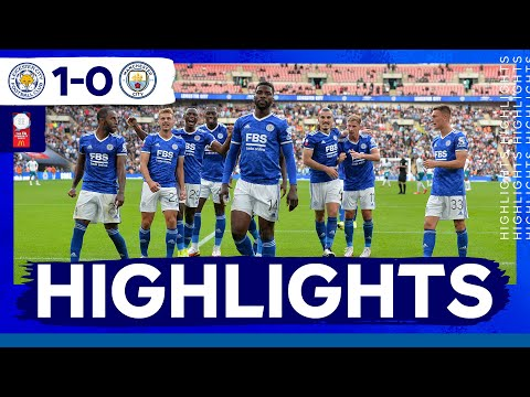 Iheanacho late penalty stuns Manchester City |  Leicester City wins the Community Shield |  Featured matches