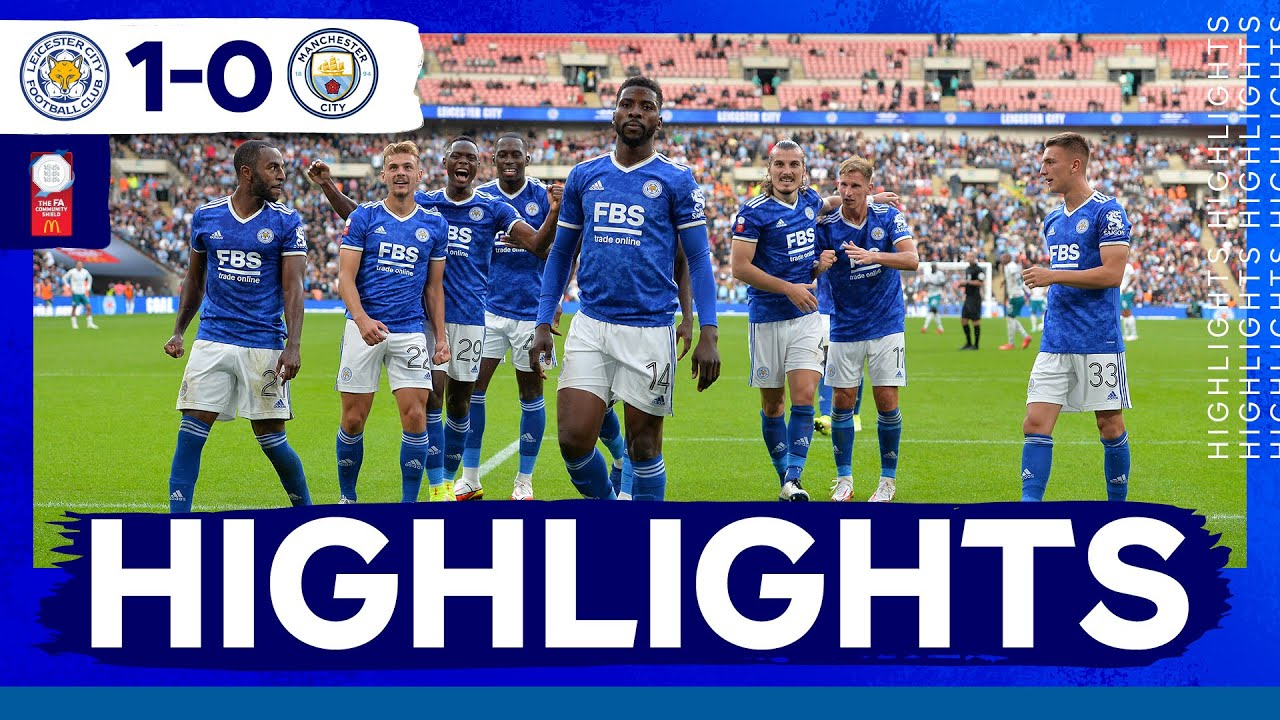 Download Late Iheanacho Penalty Stuns Man City | Leicester City Win The Community Shield | Match Highlights