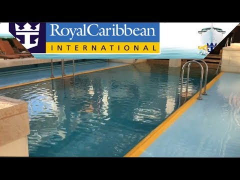 Vision Of the seas cruise ship solarium/ HD