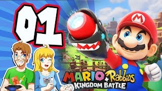 Mario Rabbids Kingdom Battle 100% Walkthrough (Perfect Guide)