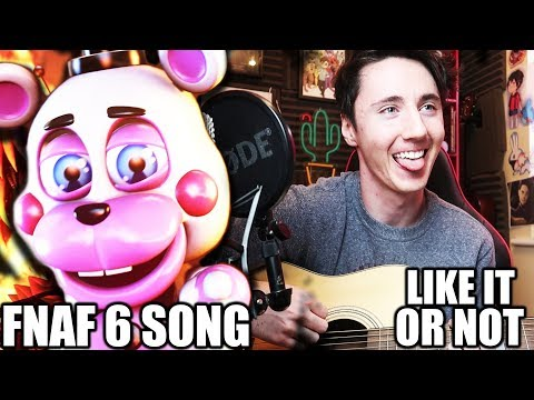 FNAF 6 SONG (Like It Or Not) - Acoustic Cover