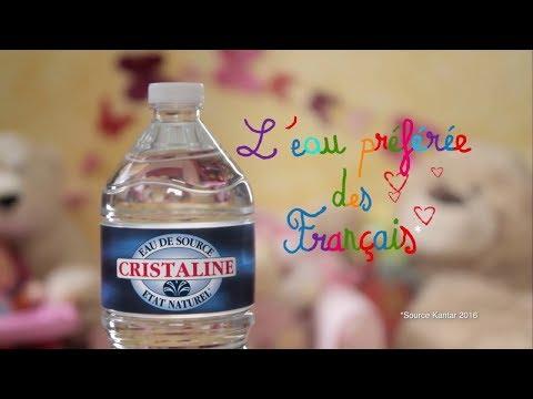 Vidéo Pub TV Cristaline 2019 - Les jumelles - Voix Off: Marilyn HERAUD