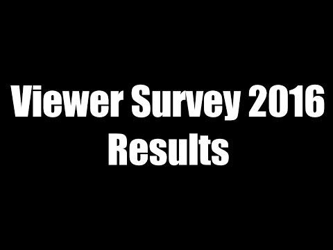 Results of the 2016 Viewer Survey