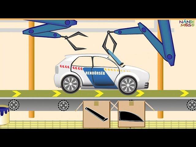 Nándi Mese: Az autógyár