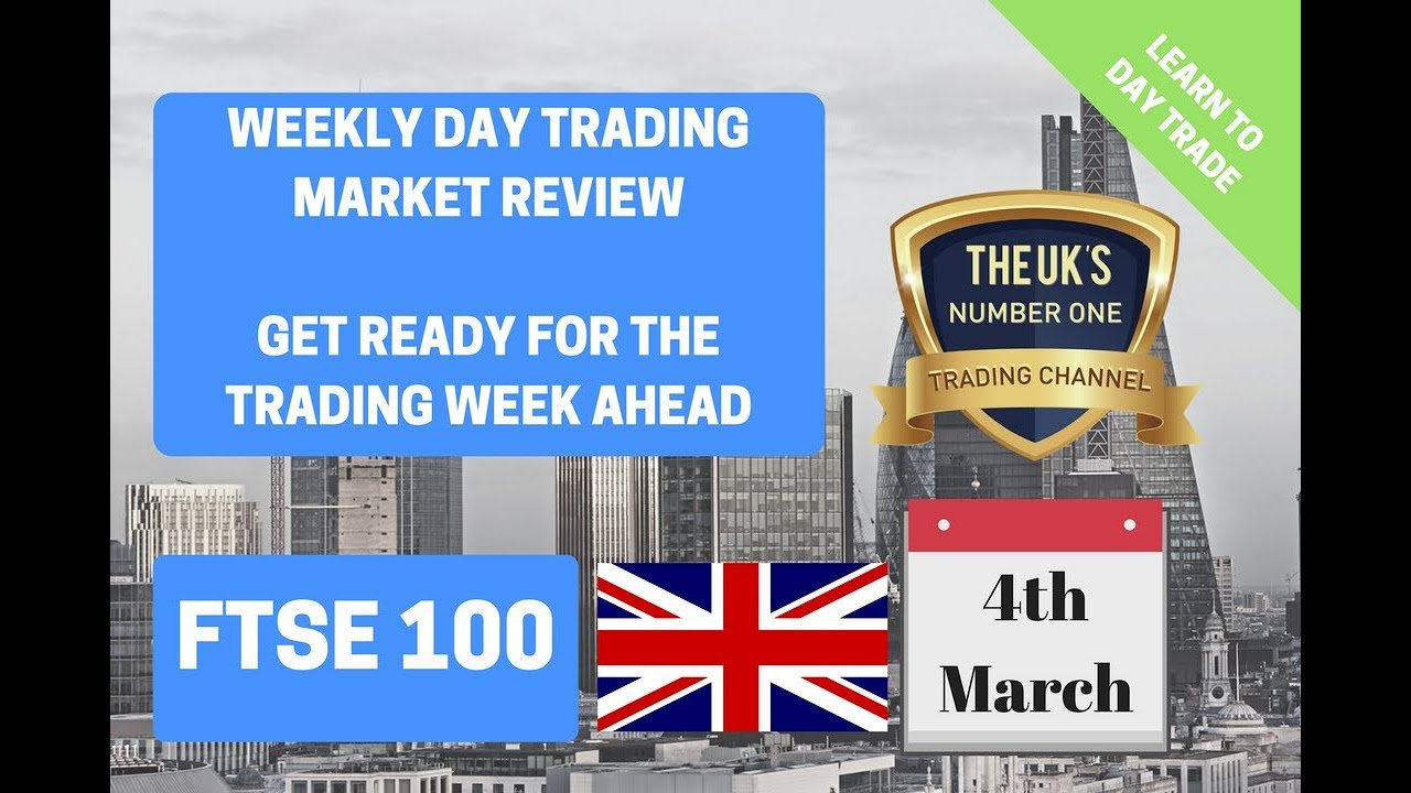 Day Trading the FTSE (Dax & Dow!)