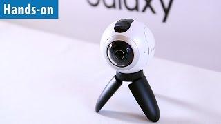 Samsung zeigt 360-Grad-Kamera