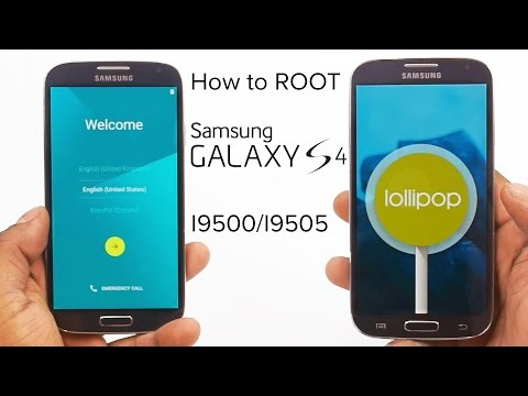 How to root Galaxy S4 (I9500/I9505) running Lollipop 5.0.1