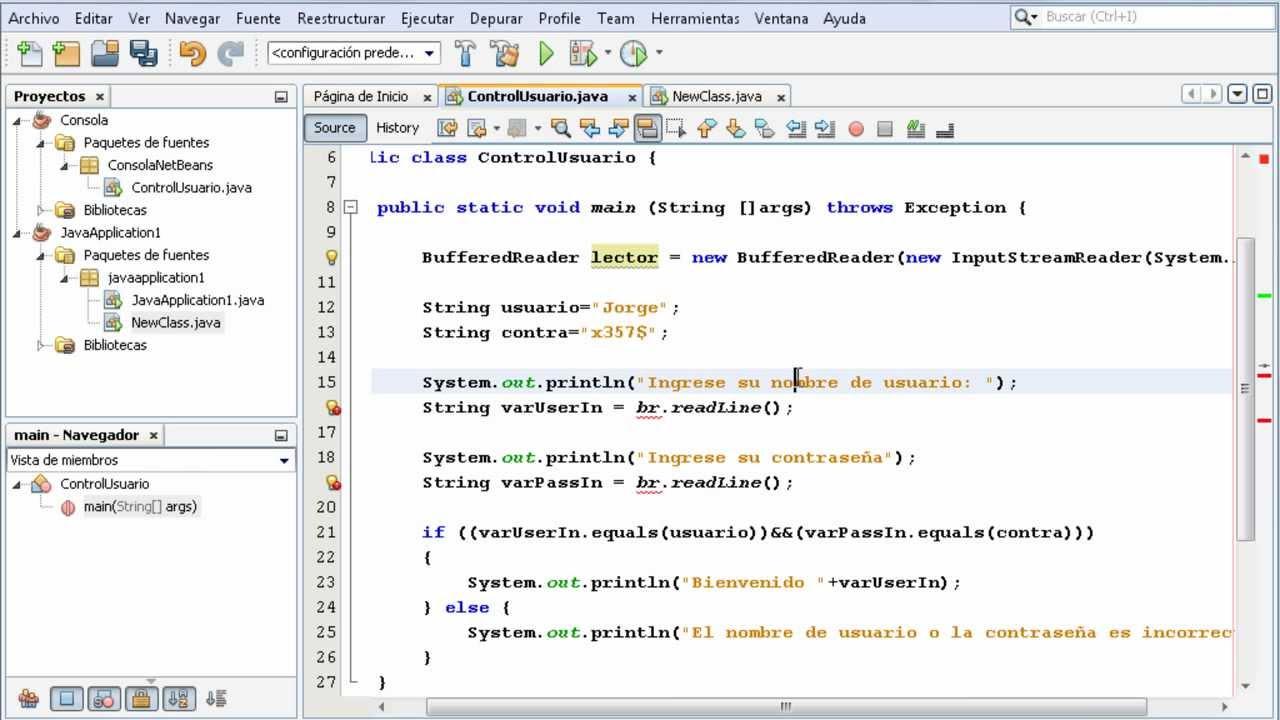 Entrada de datos en Java