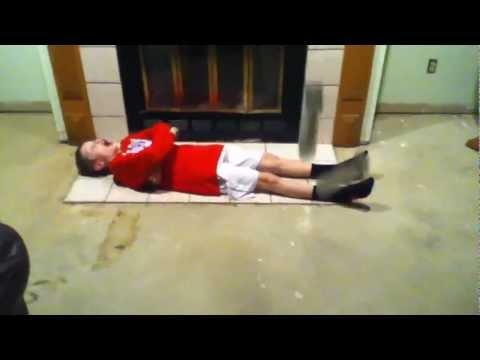 jack parnell blown up wije doing yoga
