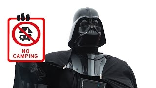 Vader says NO to camping xD | Starwars Battlefront funny moment Ep. 7