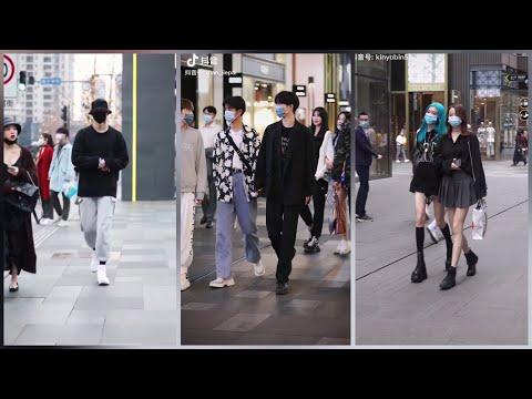 Thời trang đường phố cực chất của giới trẻ Trung Quốc [Tik Tok Trung Quốc/ DouYin]