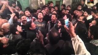 Ansar Party Nohay - 27 Muharram Anarkali 1435 - Ziarat e Zuljanah - Part 2/3