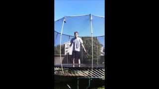 how to do a backflip on a trampoline easy 6 steps