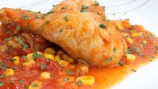 КУРИЦА ПО-МЕКСИКАНСКИ (Mexican chicken)