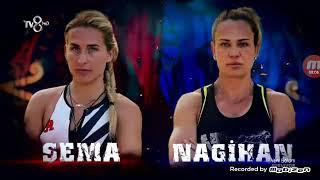 Çok beklenen sema nagihan ödül oyunu mücadelesi | SURVİVOR 2018