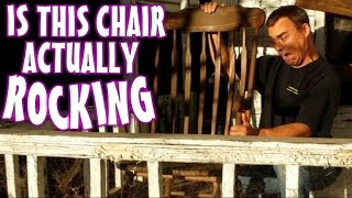 Making A Haunted Rocking Chair Halloween Prop