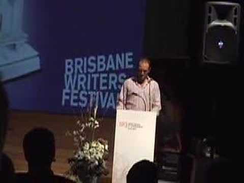 Brisbane Writer's Festival: Baba Brinkman Thanking Sponsors