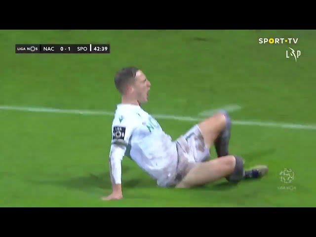 Goal | Golo Nuno Santos: CD Nacional 0-(1) Sporting (Liga 20/21 #13)