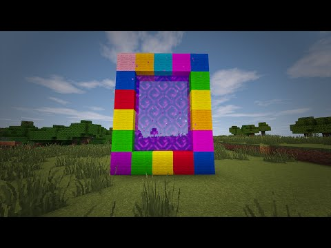 minecraft---how-to-make-a-portal-to-candy-land!!-(no-mods)