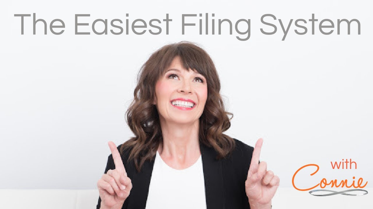 The Easiest Filing System