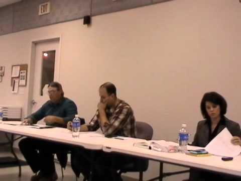 robinson township meeting 11-9-15